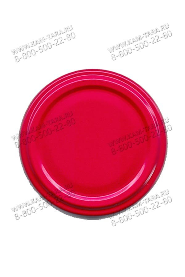 Крышка ТО (типа III-43) красная (кор.3300)