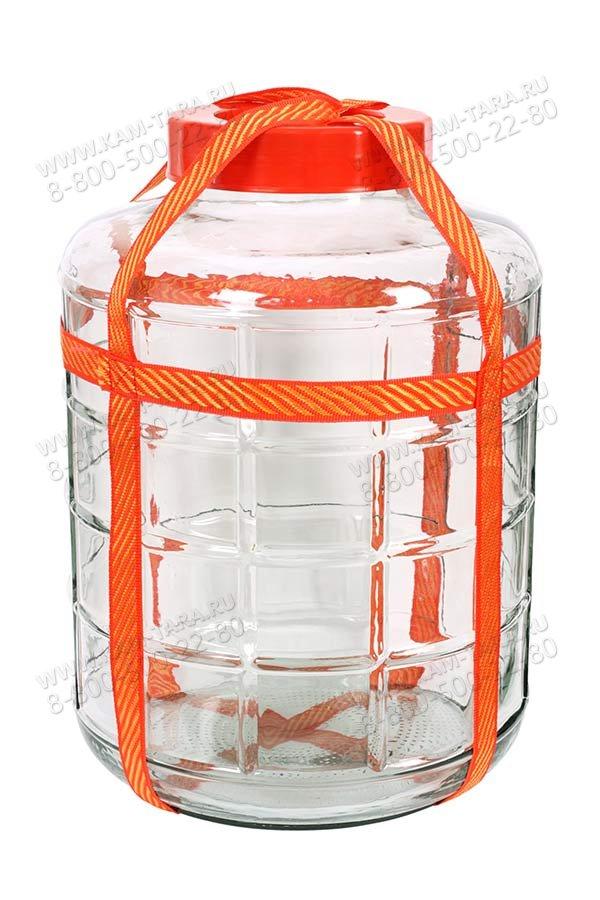 Бутыль с гидрозатвором 25л.
