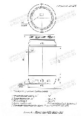 Стеклобанка КБ6-В66А-350 (пал.3000 Е)