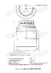 Стеклобанка КБ64-В66А-480 (пал.2760)