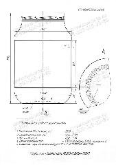 Стеклобанка КБ20-В100А-2000 (пал.540)
