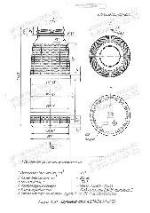 Стеклобутылка К121-В43А-250 (пал.4180)