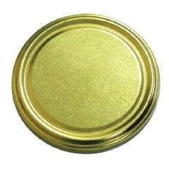 Крышка 100 золотая (кор.350)