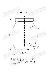 Стеклобанка 1-58-250 (пал.4515Е)