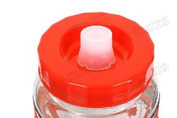 Бутыль с гидрозатвором 18л.