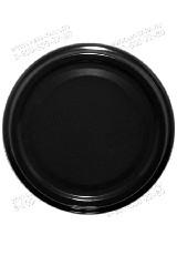 Крышка 82 черная пастер. (Е) (кор.500)